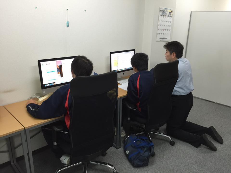 岐阜オフィスにて岐阜市立岐阜中央中学校の職場体験学習を行いました。