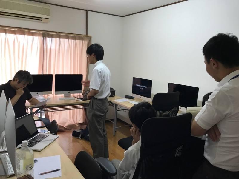 岐阜オフィスにて岐阜県立岐阜工業高等学校の職場体験学習を行いました。