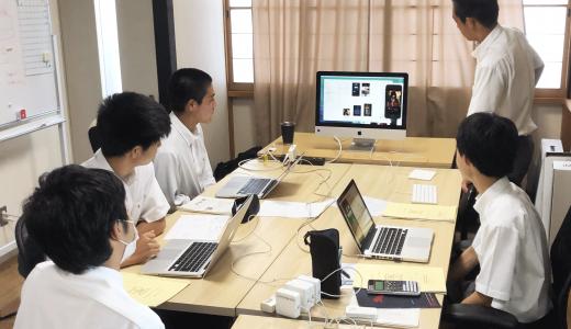 岐阜オフィスにて岐阜工業高等学校のインターンシップを行いました。