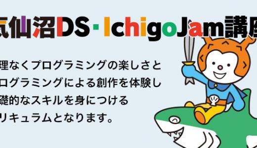 気仙沼市小学生向けDS・Ichigojamプログラミング講座開催のお知らせ